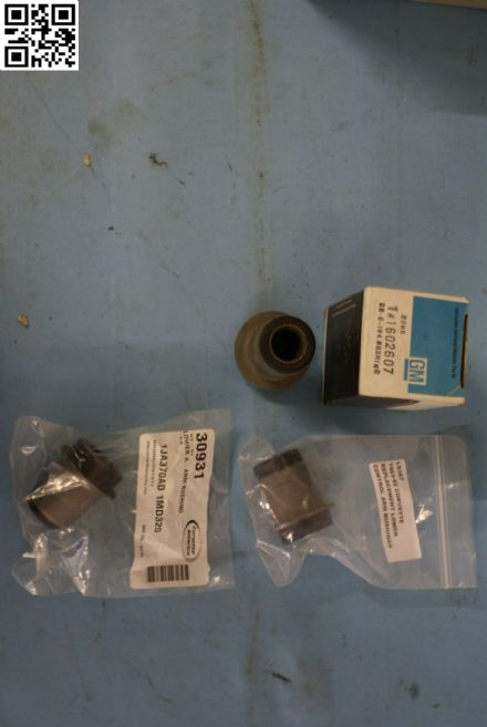 1963-1982 Corvette C2 C3,Lower A-Arm/Control Arm Bushing,New,Box C
